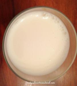 leite inhame